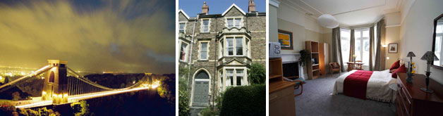 Clifton Towers Bed and Breakfast Accommodation near Clifton Suspension Bridge in Bristol